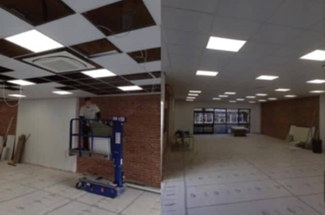 RB Refurbishment specialists in painting decorating flooring watham abbey construction site